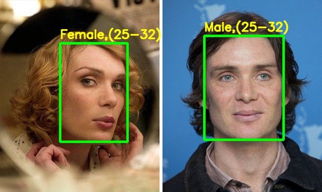 Demographics with Camera Vision Processing